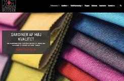 HM Gardinbusser - Ny hjemmeside